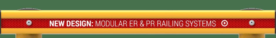 Modular ER & PR Rail Systems