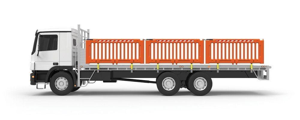 Truck Tray Safety Barrier