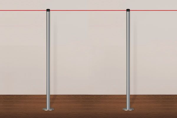 Gallery Elasticated Cord Barriers