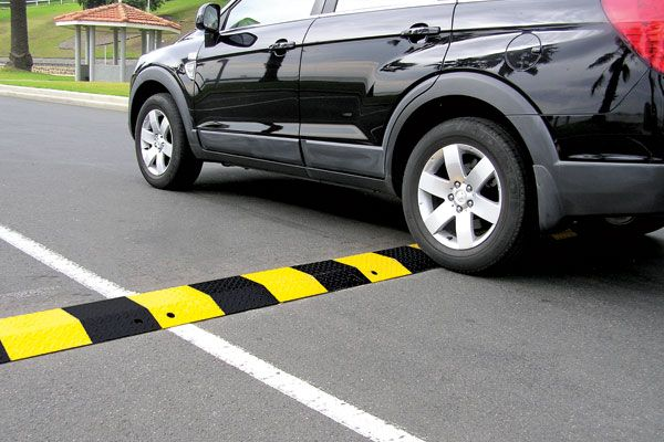 Steel Speed Hump - Standard Duty