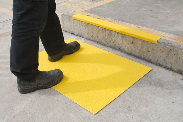 Anti Slip Floor Safety Grooving : Frp stair nosing anti slip products workplace safety