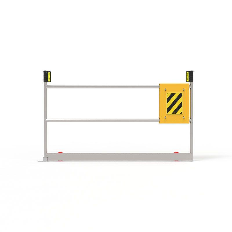 Ball-Fence Roller Gates