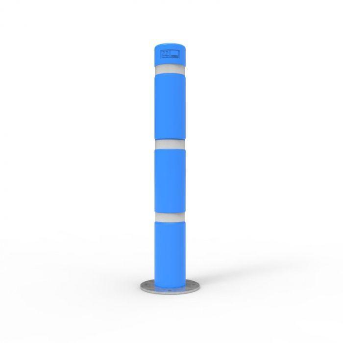 Disability Blue Skinz Bollard Sleeves