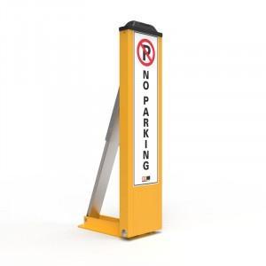 Fold-Down Bollards Access Control