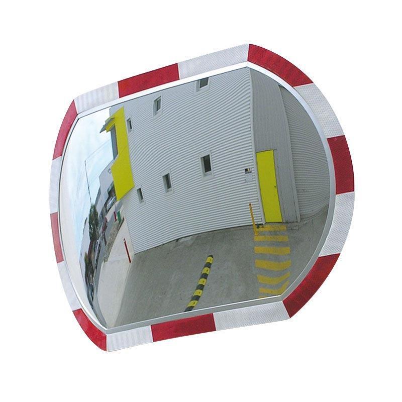Hi-Vis Roundtangular Safety Mirror