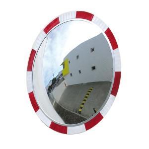 Hi-Vis Round Safety Mirror