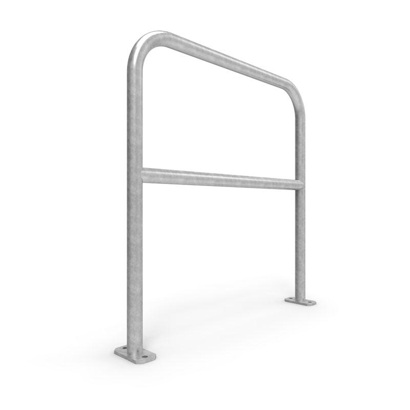 Galvanised U-Bars Double Rail Steel