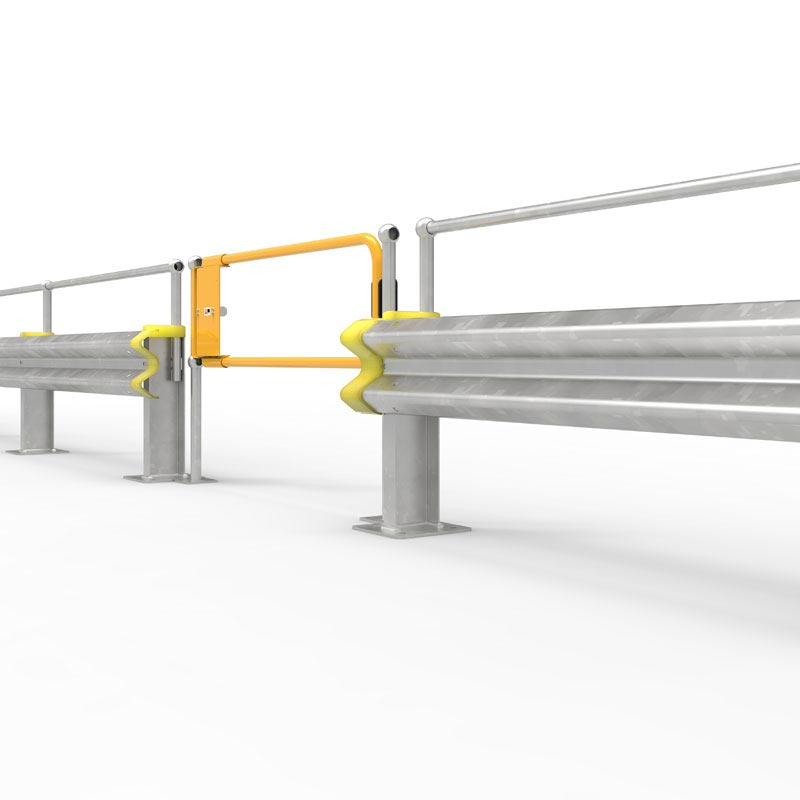 Ball-Fence with W-Beam